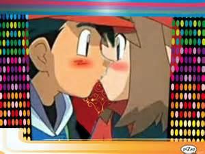 Ash and may kiss ash and may kiss its not perfect but i did it