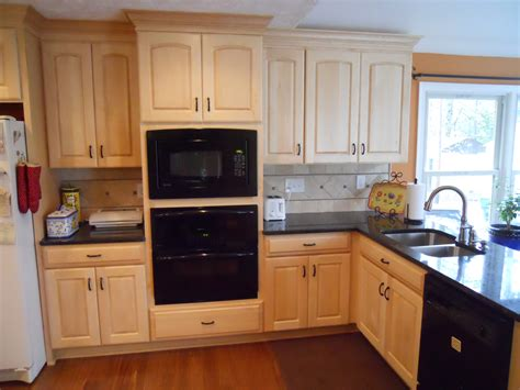 maple cabinets with granite countertops project portfolio kitchen remodeling kitchen refacing