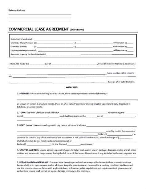 %name triple net lease agreement   Free California Commercial Lease Agreement   PDF   Word (.doc)