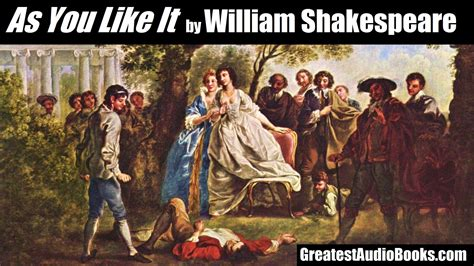 as you like it by william shakespeare audiobook