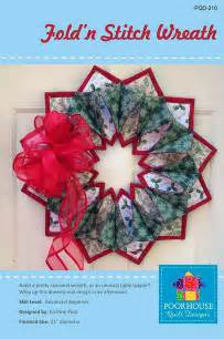 Fold n stitch wreath pqd 210 851947004596