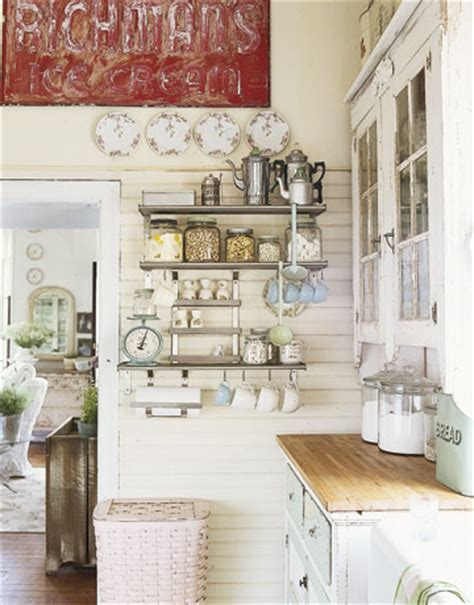 shabby chic kitchen ideas lovables inspired interiors shabby chic le