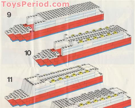 lego viking boat instructions lego 1656 2 viking line promotional set cruise ship set