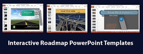 interactive powerpoint templates interactive roadmap powerpoint templates powerpoint