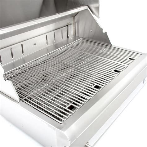 32 inch stainless steel blaze 32 inch built in stainless steel charcoal grill with