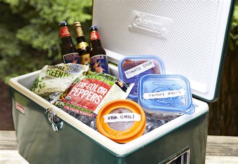 table top cooler for food expert tip packing your cooler go cing america