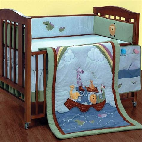 Discontinued Crib Bedding Alyssa Animal Ark 4 Crib Set