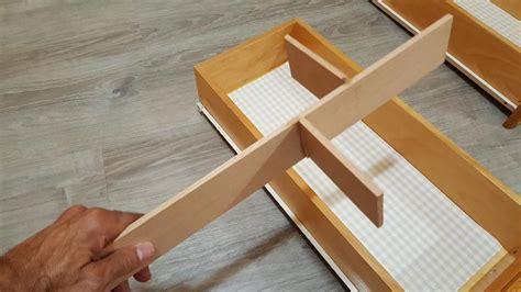 schubladeneinsatz selber machen besteckkasten f 252 r schublade selbst bauen mit checkliste