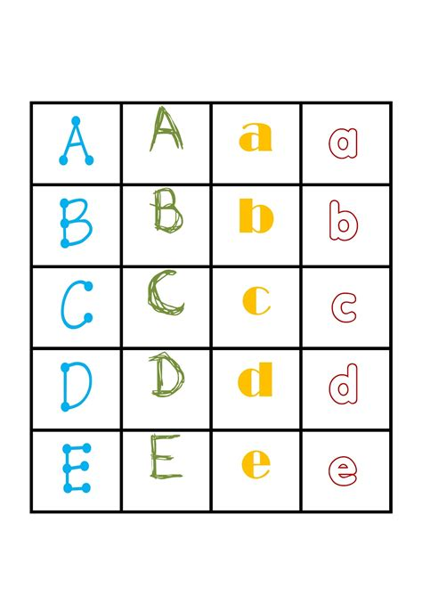 printable alphabet i teacher printable alphabet games memory letter tiles