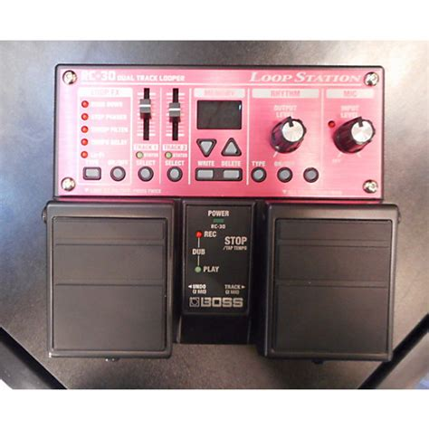 Rc30 Loop Station Pedal Effect used rc30 loop station pedal guitar center