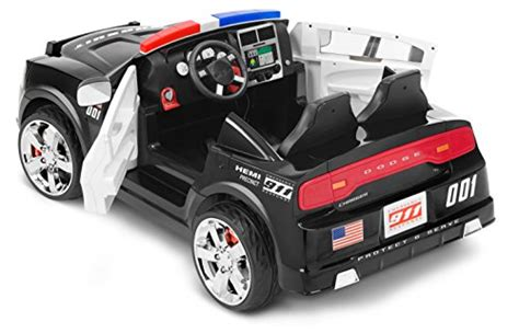 dodge charger car ride on kid trax dodge charger pursuit 12v car kt1111wm