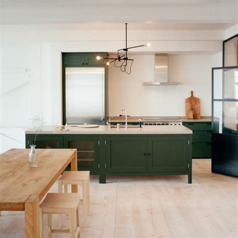english country style white kitchen with modern wood base forest green room ideas and product ideas housetohome