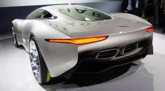 Jaguar Electric Car C X75 Jaguar C X75 Concept 2010 Diesel Electric Supercar By