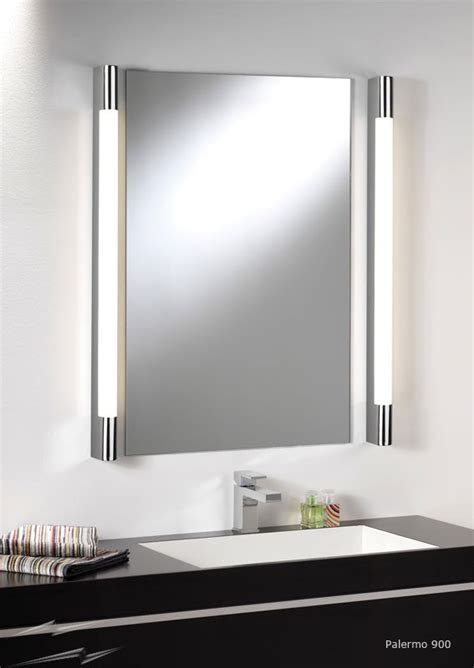 wall mirror lights bathroom ax0479 palermo 900 bathroom wall light in polished