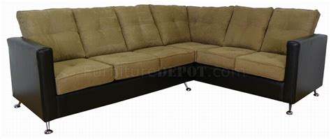 vinyl sectional sofa mocha fabric black vinyl modern sectional sofa