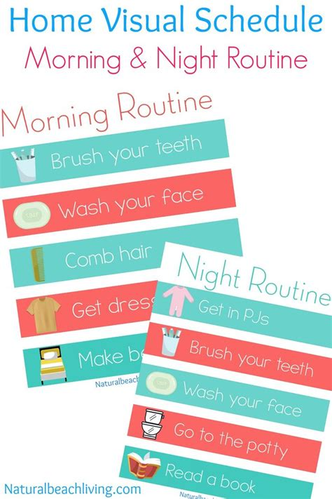 printable daily schedule for autistic child 17 best ideas about visual schedule printable on pinterest