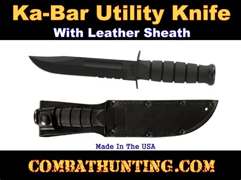 ka bar utility knife 3253 ka bar utility knife 1212 black serrated edge