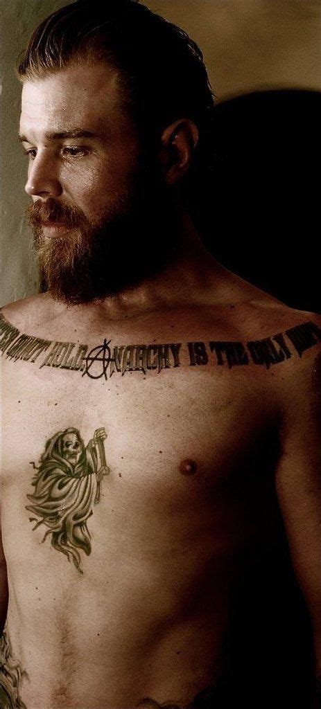 sons of anarchy tattoo opie sons of anarchy chest ideas