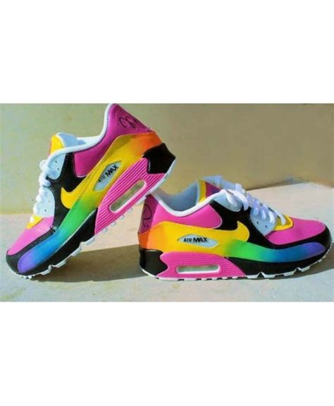 colorful air max 90 cheap nike air max 90 colorful rainbow womens trainers