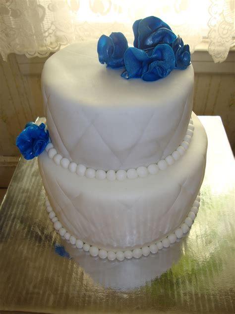 Blue Sapphire Cake   CakeCentral.com