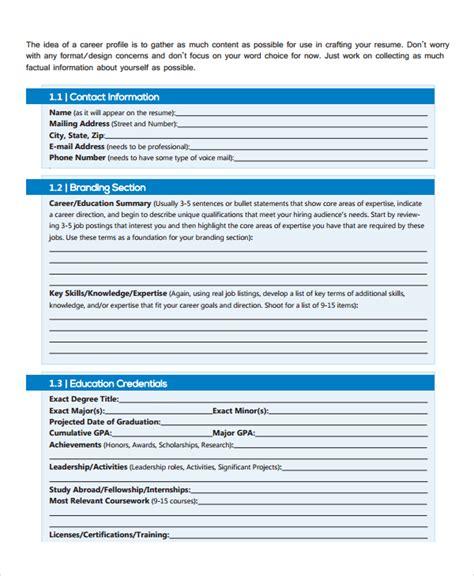 Professional Work Resume 10 work resume templates pdf doc free premium