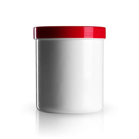 küchen glas kanister mit deckel 500g 625ml salbenkruken mit deckel rot wei 223 gt s