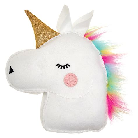 Unicorn Pillow by Studio Glitterati Unicorn Pillow At