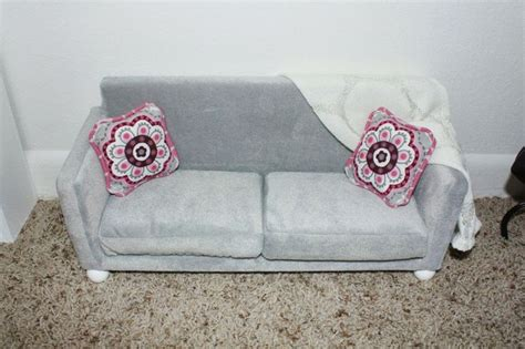 18 inch doll sofa pin by val b on grammie check this out pinterest