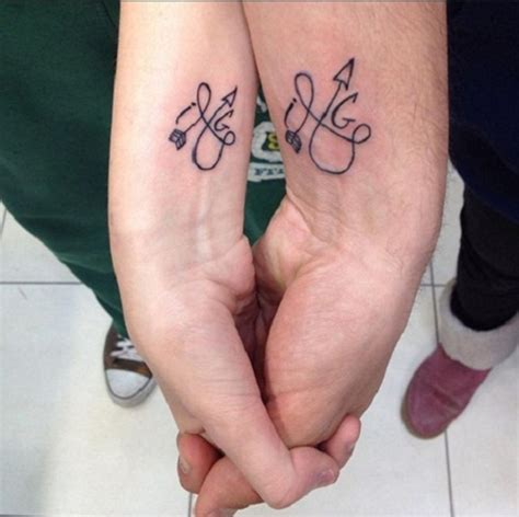 small tattoo designs for couples 52 best couples tattoos ideas and images