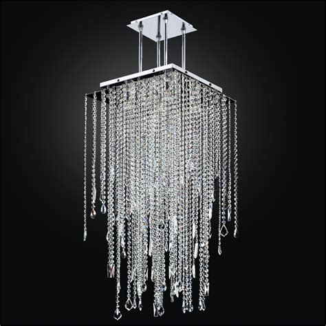 Square Chandelier Lighting Square Chandelier With Assorted Shaped