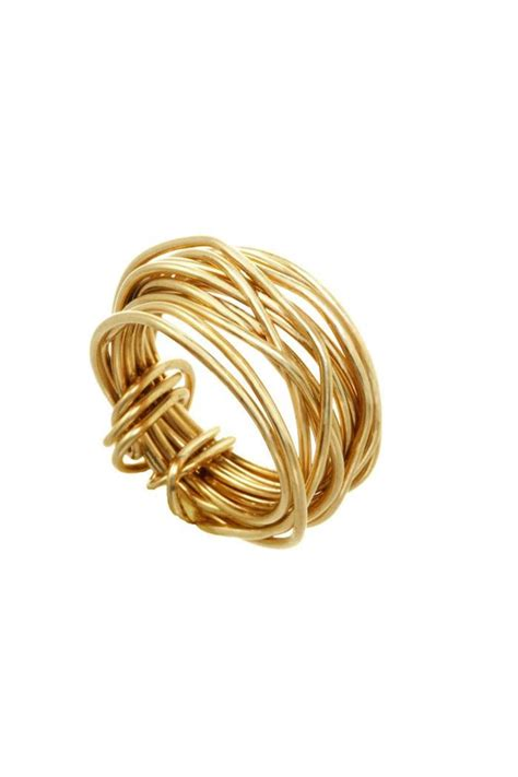 gold wire rings gold wire ring from maine by the shop shoptiques