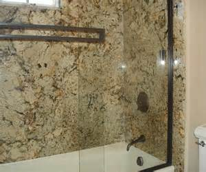create a bathroom shower using granite slabs in tulsa or