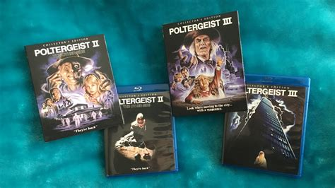scream factory slipcovers they re back poltergeist ii and iii return to blu ray