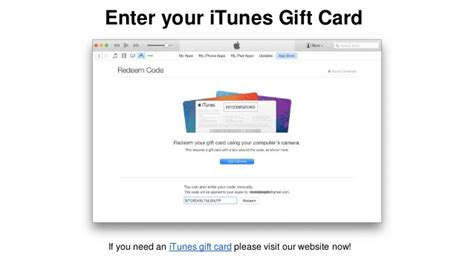 Redeem Itunes Gift Card Online - how to redeem an itunes gift card from itunes