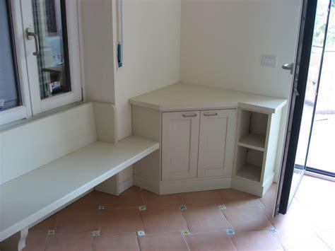 mobile cucina ad angolo mobile base ad angolo con panca falegnameria de biasi