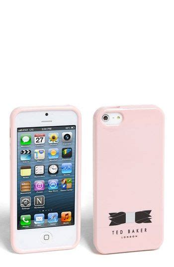 New Silicon Ted Baker For Iphone 5 ted baker sweet talking iphone 5 baby pink and sweet accessories