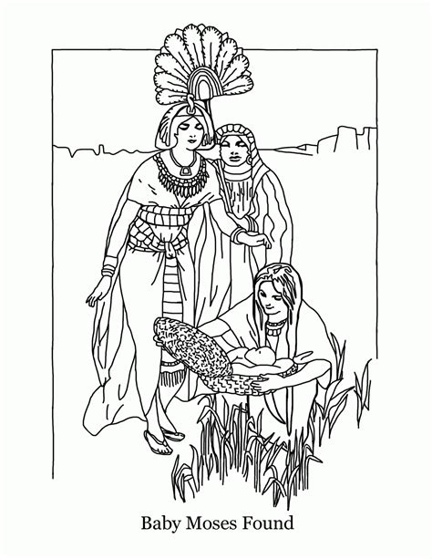 coloring pages baby moses basket baby moses coloring page coloring home