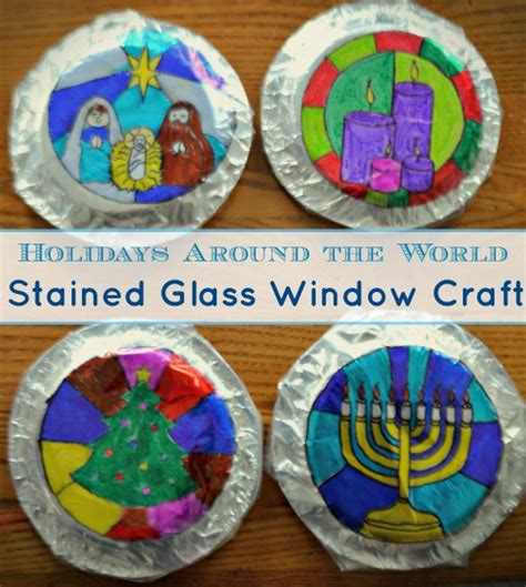 holidays around the world crafts holidays around the world craft gorgeous stained glass