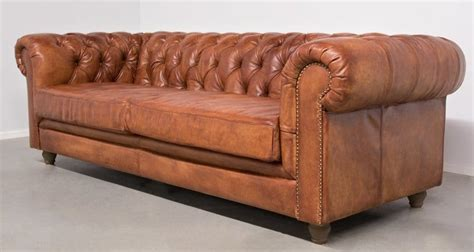 chesterfield bank buffel lederen bank chesterfield basteldesign
