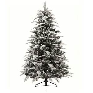 menards colorado flocked pine luxury flocked alaskan pine artificial tree 2 1m 7ft