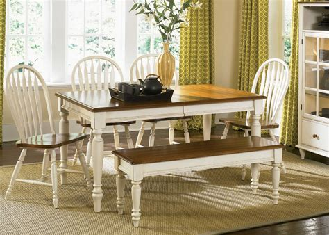 country style dining room table lovely country style dining table with bench light of