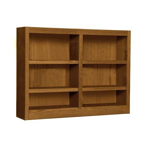 6 Inch Wide Bookcase Midas Wide 6 Shelf Bookcase In Oak Mi4836 D