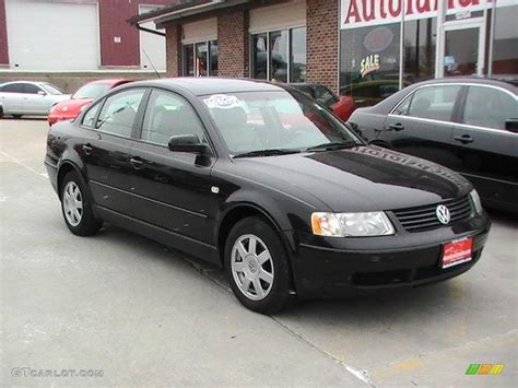 black volkswagen passat 2000 volkswagen passat black 200 interior and exterior