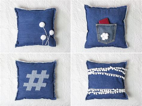 Cool Pillows To Make by Upcycle Into Bedroom Pillows Diy Network