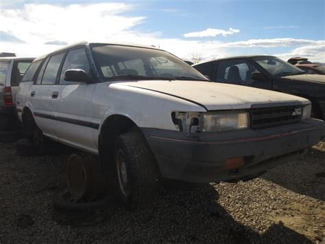 Trac Toyota Corolla Junkyard Find 1989 Toyota Corolla All Trac Wagon The