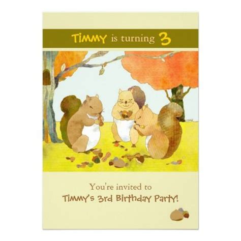 printable birthday cards with squirrels 21 best squirrel birthday party images on pinterest