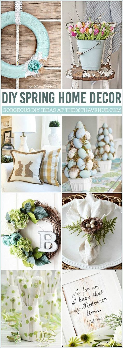 diy easter home decor ideas beautiful home decor