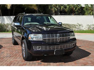 2007 lincoln navigator premium package suv black on black cars trucks by owner used cars purchase used 2007 lincoln navigator l ultimate package florida suv tv dvd navigation mint in
