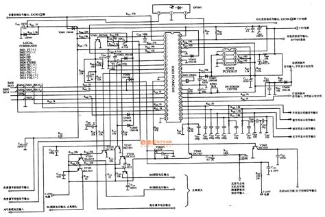 where was the integrated circuits used gt circuits gt pca84c 440 441 single chip microcomputer integrated circuit diagram l51299 next gr
