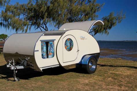 Caravanas en Gidget Retro Teardrop Camper   Viviendu